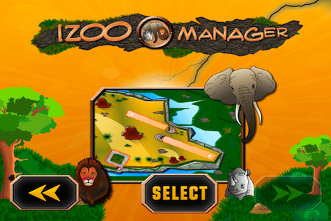 Screenshot iZoo Manager